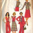 Simplicity 7999 Misses Vest, Pants, Skirt, Jacket Sewing Pattern Sz 10