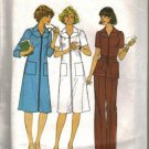 Simplicity 8033 Misses 70s Dress, Top, Pants Sewing Pattern Size 12