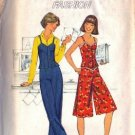 Simplicity 8036 Misses Pantskirt Pants Camisole Sewing Pattern Size 10