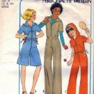 Simplicity 8093 Girl Hooded Pantdress, Jumpsuit Sewing Pattern 12, 14