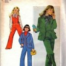 Simplicity 8124 Girls Sewing Pattern Jumpsuit, Blouse, Jacket Size 10