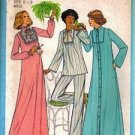 Simplicity 8163 Misses Nightgown Pajamas Robe Sewing Pattern Size 6, 8