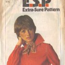 Simplicity 8166 Misses 70s Pullover Top Sewing Pattern Size 12, 14, 16