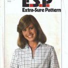 Simplicity 8183 Misses Pullover Top 70s Sewing Pattern Size 8, 10, 12