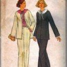 Simplicity 8199 Misses Jacket, Pants, Blouse Sewing Pattern Size 10
