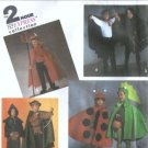 Simplicity 8270 Devil, Robin Hood Childs 2 Hr Costume Pattern S, M, L