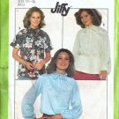 Simplicity 8293 Misses 70s Pullover Blouse Sewing Pattern Size 14, 16