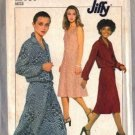 Simplicity 8312 Misses 70s Dress, Jacket Sewing Pattern Size 6, 8