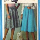 Simplicity 8339 Misses Jiffy Skirt Vintage Sewing Pattern Size 10, 12