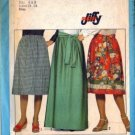 Simplicity 8303 Misses 70s Skirt, Sash Jiffy Sewing Pattern Size 6, 8