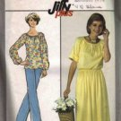 Simplicity 8352 Misses 70s Top, Skirt, Pants Sewing Pattern Size 12