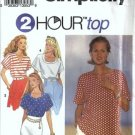 Simplicity 8373 Misses Tops Sewing Pattern Size 6, 8, 10, 12