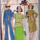 Simplicity 8395 Misses Jacket Skirt Top Pants Sewing Pattern Sz 18 1/2