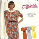 McCalls 2409 Misses Casual Dress Vintage Sewing Pattern Size 14