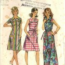 Simplicity 5028 Misses Smock Dress Vintage Sewing Pattern Half Size 14 1/2