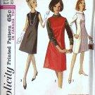 Simplicity 6116 Misses Dress, Jumper 60s Vintge Sewing Pattern Size 12