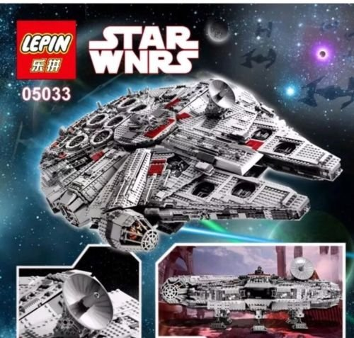 Star Wars Millennium Falcon Ultimate Collectors (LEGO 10179 compatible)