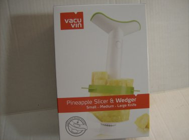 Vacu Vin Pineapple Slicer & Wedger   3 knifes