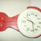 KITCHEN CLOCK SHAPED LIKE A AT