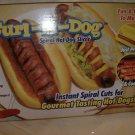 Curl-A-Dog spiral hotdog slicers