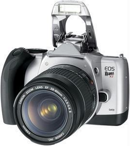 Canon 9113a014 Eos Rebel K2 Slr Camera Kit