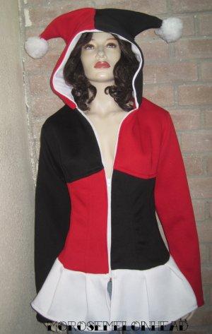 Harley Quinn Corset Hoodie