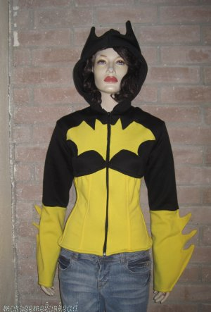 Batgirl  Corset Hoodie