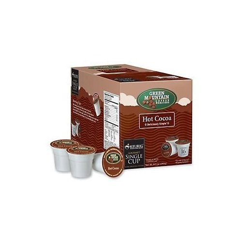 Keurig Green Mountain Hot Cocoa 16 K-CUPs