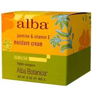 Alba Botanica, Jasmine & Vitamin E Moisture Cream, 3 oz (85 g)