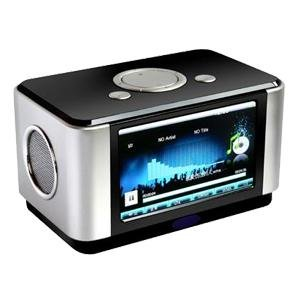 Portable speaker-MP4 player, digital photo frame, voice recorder