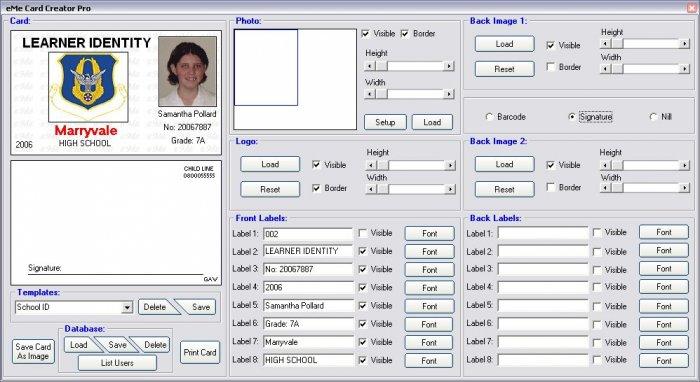 ID Card Creator