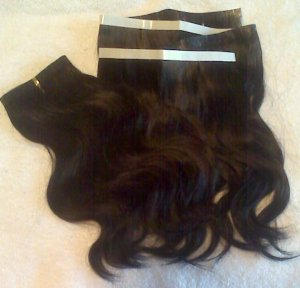 4oz of Pre-Taped Hair Extensions - Skin Wefts!!!