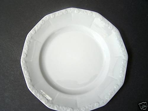 ROSENTHAL Maria White Dinner Plates Set/6 New