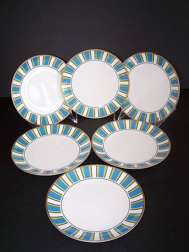 WATERFORD Marc Jacobs David Ocean Side Plates Set/6 New