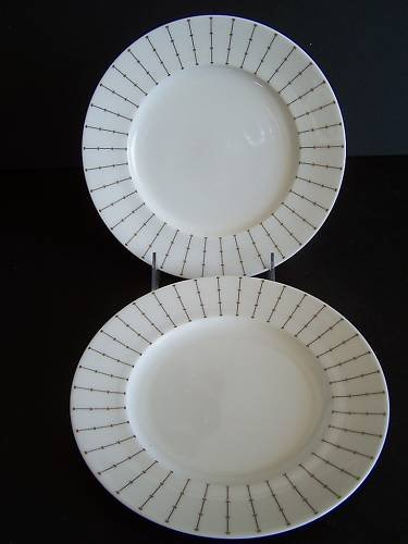 WATERFORD China Marc Jacobs Jean Salad Plate S/2 New