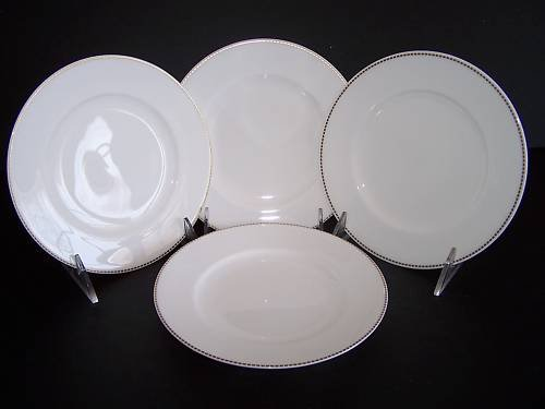 WATERFORD Marc Jacobs Jean Bread & Butter Plate S/4 New