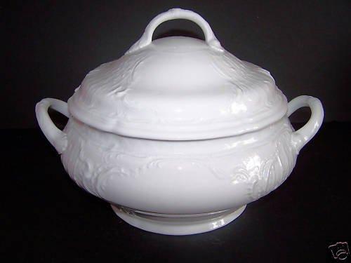 ROSENTHAL Sanssouci White Round Vegetable Bowl New