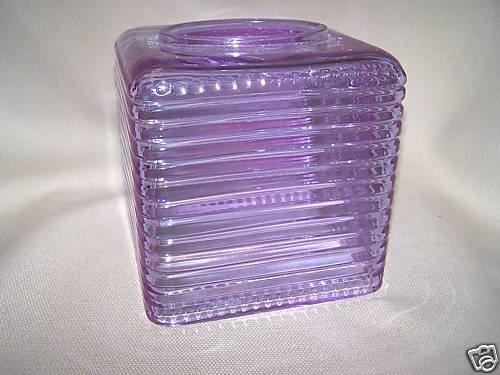 LABRAZEL Crystal Pearl & Stripe Alexandrite Violet Tissue Box Cover New