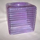 LABRAZEL Crystal Pearl & Stripe Alexandrite Violet Tissue Box Cover New