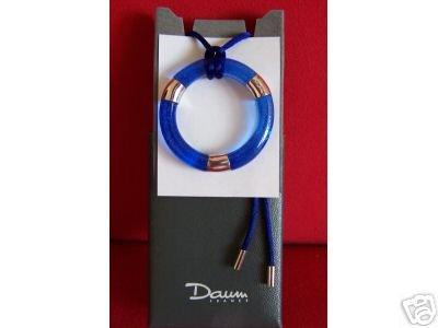 DAUM Pendant  Necklace Crystal Collectible  NIB