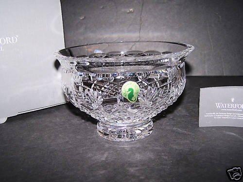"""WATERFORD Clear Crystal Killarney 6"""" Ireland Bowl NIB"""