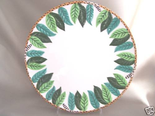 LYNN CHASE Atelier Jungle Jubilee Charger Plate New