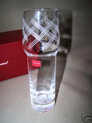 Baccarat Crystal  Bluebell Sky Bud Vase France  NIB
