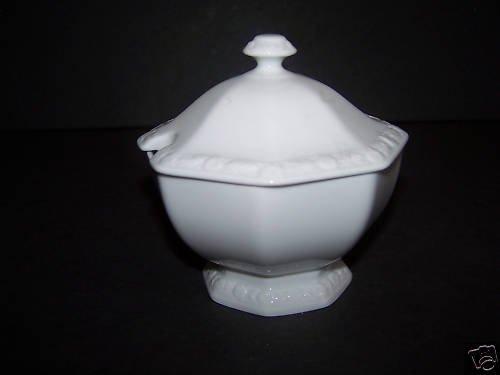 ROSENTHAL Maria White Serving Lidded Sauce Bowl New