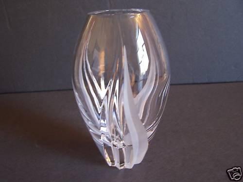 """FABERGE Crystal Catherine's Palace Petit Vase 9""""  New"""