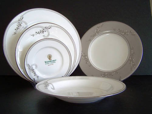 WATERFORD China Ballet Jewel 5 Piece Setting for 4 New