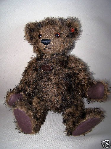 GUND Collectible Mohair Bear Gregory Gold Label New