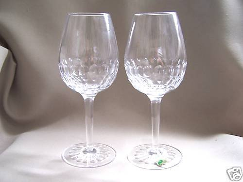 WATERFORD Crystal Presage White Wine Glass Set of 2 New