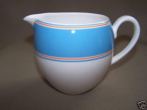 LENOX Cays Stripe Blue Creamer Kate Spade Design New