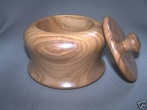 LABRAZEL Olivo Covered Jar Wood Italy New